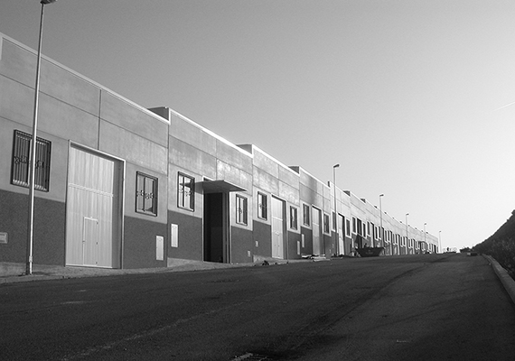 Industrial buildings of the expansion of the industrial zone of Estepona
