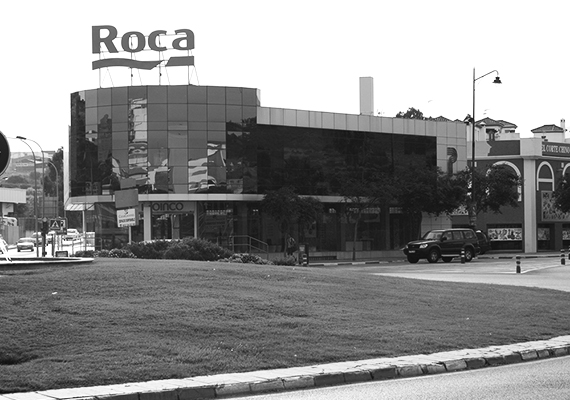 Roca offices near the industrial area in Estepona